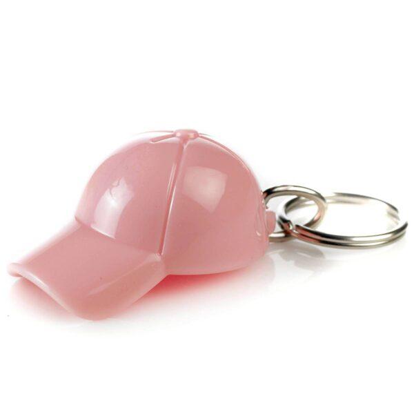 Cap keychain light pink