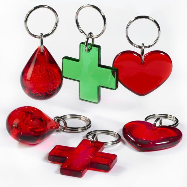 Health keychains package