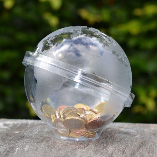 Globe moneybox - Globus
