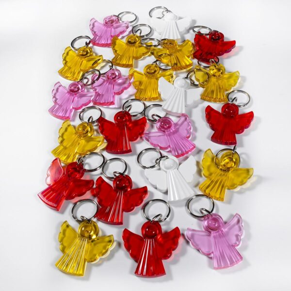 Angel keychains mega package