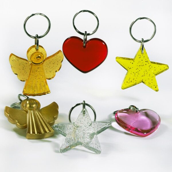 Christmas keychains package