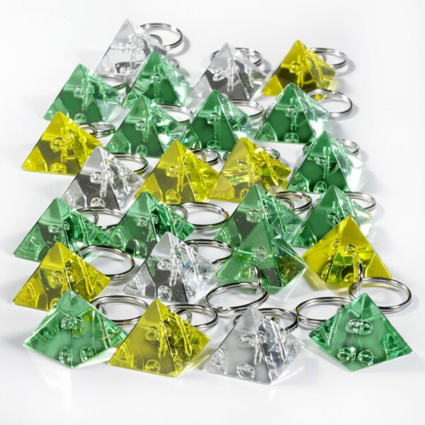 Pyramid keychains mega package